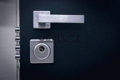 Mat-chrome-handle-for-security-door