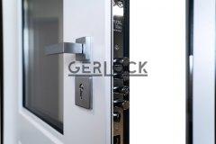 Security-door-Gerlock-with-glass-and-electronic-lock