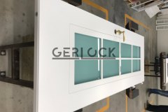 assembling-security-door-with-glass